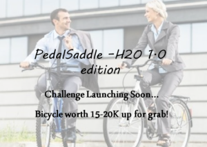 pedalsaddle h20 challenge