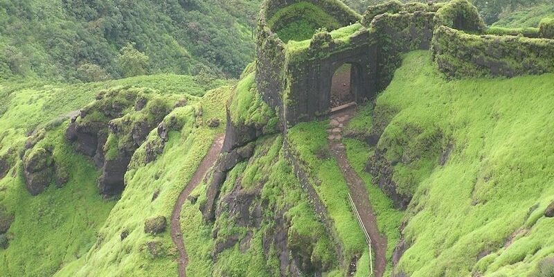 Rajgad fort in Pune